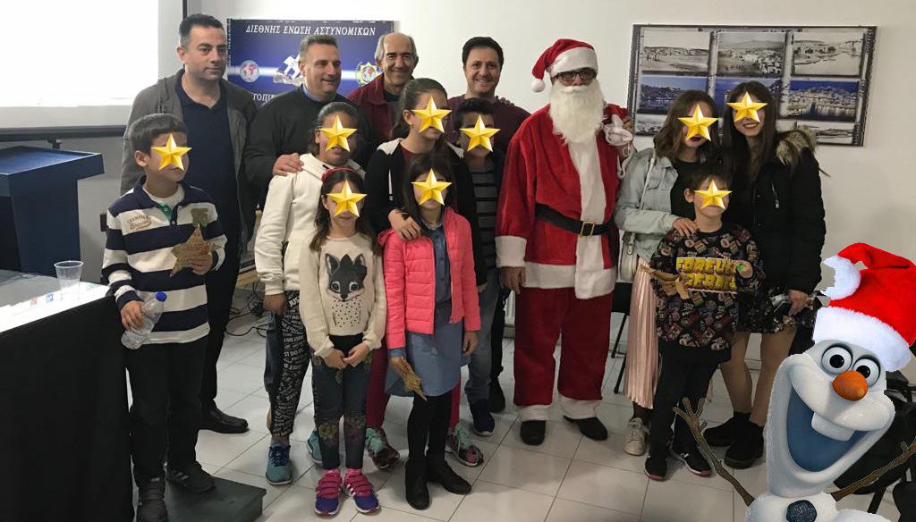 Χριστουγεννιάτικη εκδήλωση για τα παιδιά από την Τ.Δ. Λασιθίου